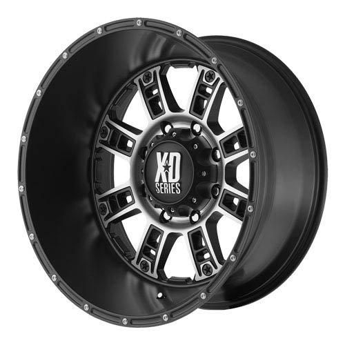 KMC XD Series XD 809 (20 x 9, 8 x 170) 18 Offset, Matte Black Machined, (1) Wheel/Rim at Sears.com