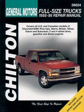 Haynes Manuals CHEVY/GMC TRUCKS 88-98 at Sears.com